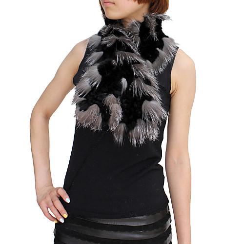 Великолепная меха кролика и шерсти Fox партии / вечер шарф (больше цветов) Lightinthebox 1030.000