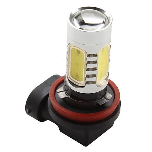 H8 7.5Вт 600лм 7000-8000К мощная LED лампочка для авто с белым светом (DC 12V) Lightinthebox 601.000