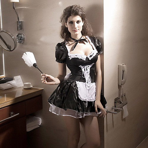 Sexy женщин позднего Nite Хеллоуин костюм горничной (3 шт) Lightinthebox 1073.000