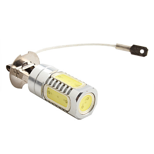 H3 7.5W 600LM 7000-8000K Белый свет Мощные светодиодные лампы для автомобилей лампы (DC 12V) Lightinthebox 601.000