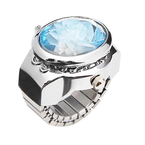 Очаровательная Сплав Цветочный дизайн Регулируемая Ring Watch (другие цвета) Lightinthebox 180.000