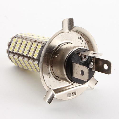 LED лампа для машины (DC 12V), белый свет, H4 4.2W 126x3528 SMD 6500-7000K Lightinthebox 429.000
