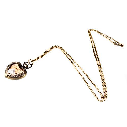 Элегантный дизайн сплав Сердце ожерелье смотреть Lightinthebox 180.000