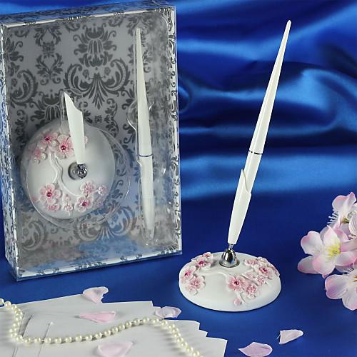 красивая смолы сакуры гостей свадьбы перо набор Lightinthebox