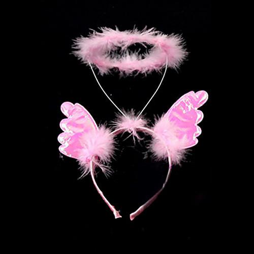 Розовый ангел Halo Хэллоуин Головной убор (1 шт) Lightinthebox 171.000