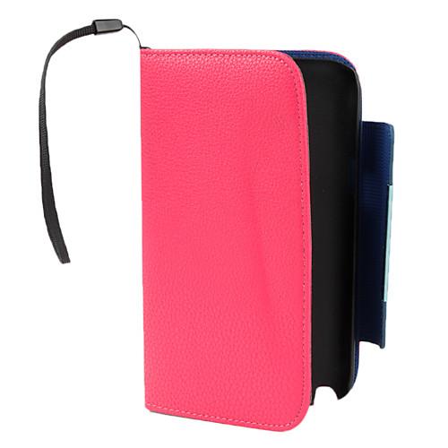 PU кожаный чехол с бумажник и стенд для Samsung Galaxy Примечание 2 N7100 (разных цветов) Lightinthebox 343.000