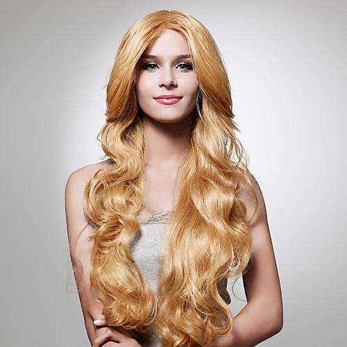 монолитным долго свет золотисто-коричневого цвета фигурных парик волос (0479-JF-3) Lightinthebox 1288.000