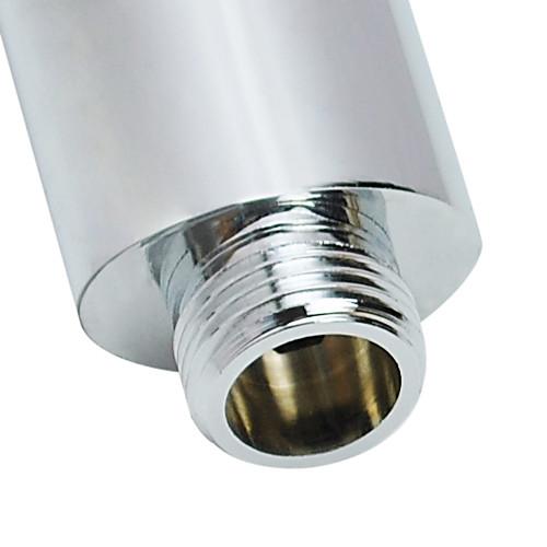 современной твердой латуни хромированная отделка ручной круглые насадки для душа без шланга Lightinthebox 1073.000