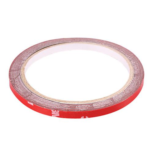 3M автомобиля PET Двухсторонняя клейкая лента - красный (6 мм-ширина)