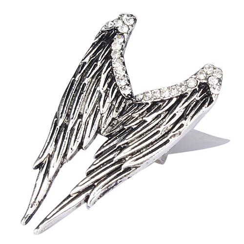 Крыло серебряной плиты Ангела кольцо Lightinthebox 107.000