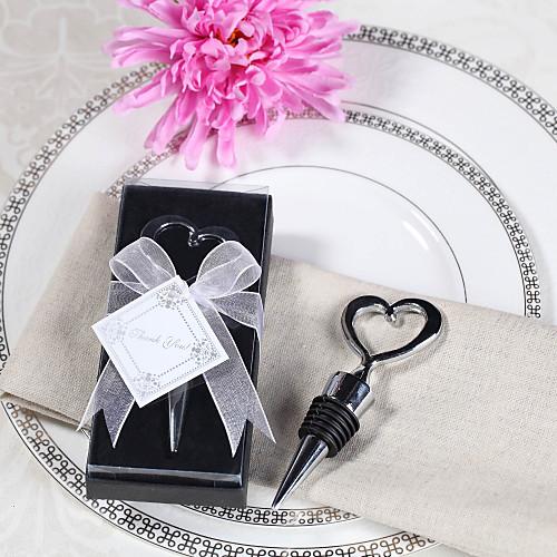 Chrome пробку бутылки сердце в коробке подарка Lightinthebox 85.000