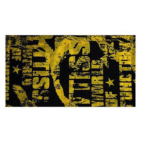 Мода Дизайн Велоспорт шарф (черная и желтая) Lightinthebox 128.000