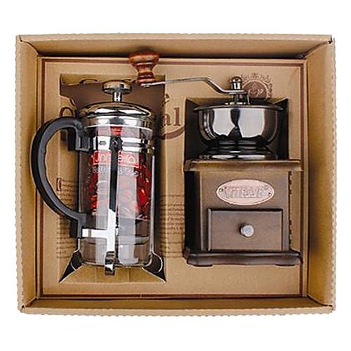 Кофе серии штучной упаковке подарков (Moka & Сифон Pot, Grinder, кубки) Lightinthebox 2148.000