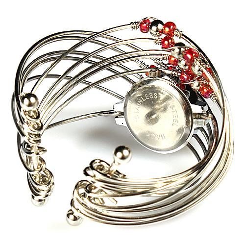 Прекрасный сплав с Beadings Кварцевые часы платье (больше цветов) Lightinthebox 249.000
