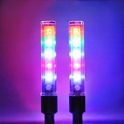 Клапан для колеса с 5 светодиодами, 8 режимов (для велосипедов и авто, 2 шт.) Lightinthebox 171.000