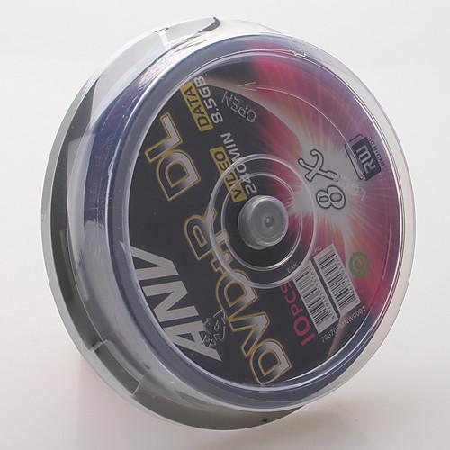 240 мин 8.5GB 8X DVD  R DL дисков (10-упаковка) Lightinthebox 386.000