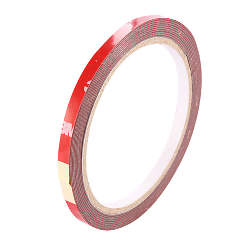 3M автомобиля PET Двухсторонняя клейкая лента - красный (6 мм-ширина) Lightinthebox 128.000