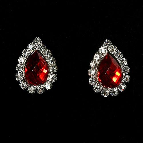 Великолепный сплав с комплект ювелирных изделий Rhinestone женщин, в том числе ожерелья, серьги Lightinthebox 476.000