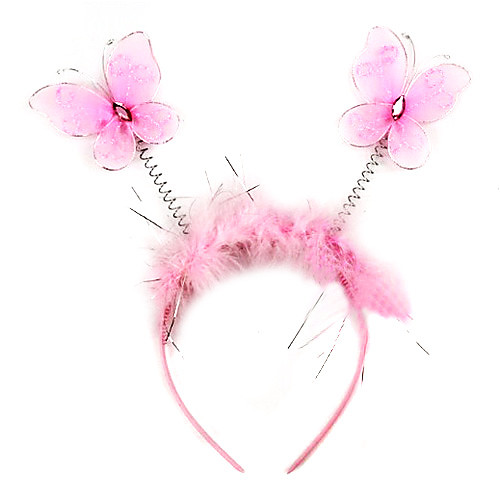 Cute Pink Butterfly Хэллоуин Головной убор (1 шт) Lightinthebox 85.000