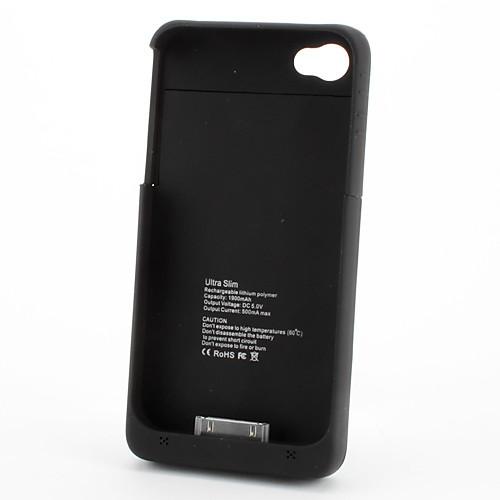 Внешний блок питания для 4 iPhone 4S и (1900 мАч) Lightinthebox 513.000