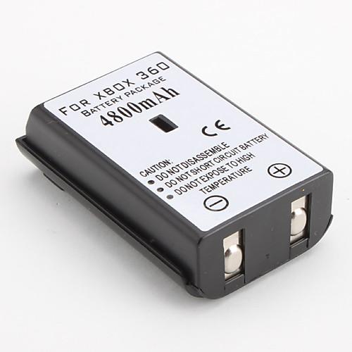 Перезаряжаемая Ni-MH батарея для Xbox360 (4800 мАч)