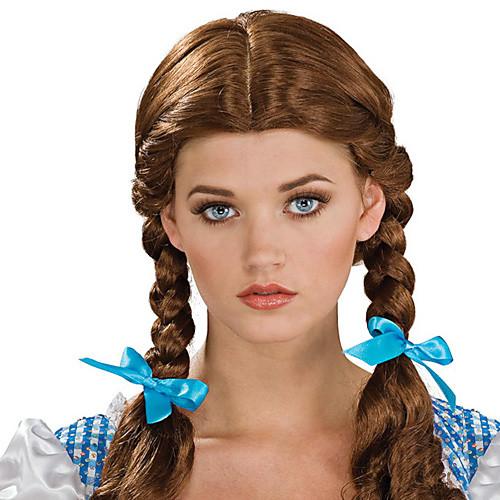 Хэллоуин парик вдохновлен темно-коричневый плетеные косички мастера Lightinthebox 601.000