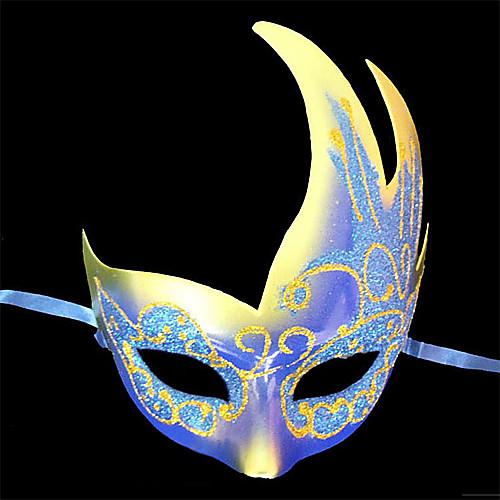 Синие тени Pattern пластиковые пол-лица маски Lightinthebox 137.000