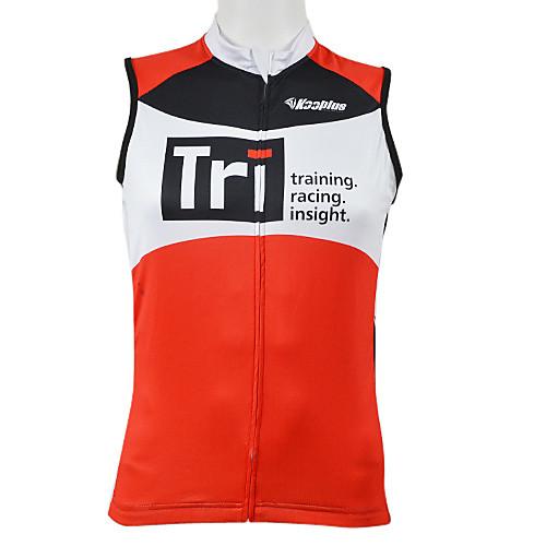 Kooplus 100% полиэстер Велоспорт Vest (красный) Lightinthebox 858.000