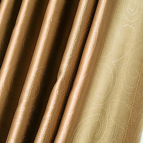 Шторы плотные коричневые в стиле неоклассицизма (две панели) Lightinthebox 1503.000