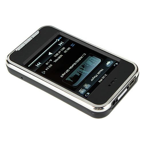 2,8-дюймовый сенсорный экран MP5-плеер FM / Camera / Voice Recorder 4GB Lightinthebox 1159.000