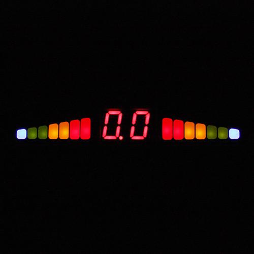 Парковочная система с 4 Radar  блок управления  LED Display, Черный Lightinthebox 944.000