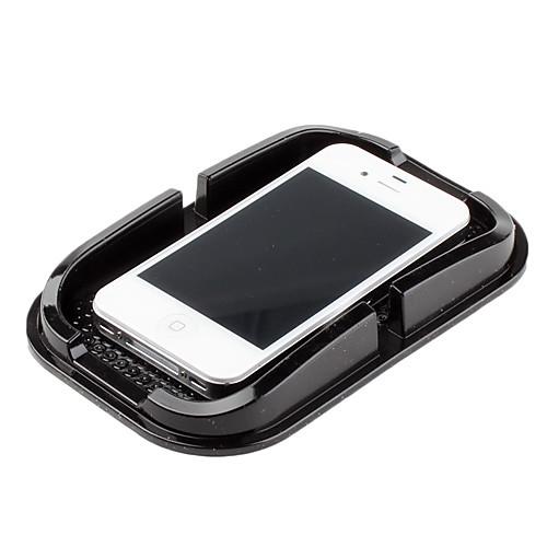 Многофункциоанльный автомобильный держатель на липучке для iPhone 5 (черный) Lightinthebox 132.000