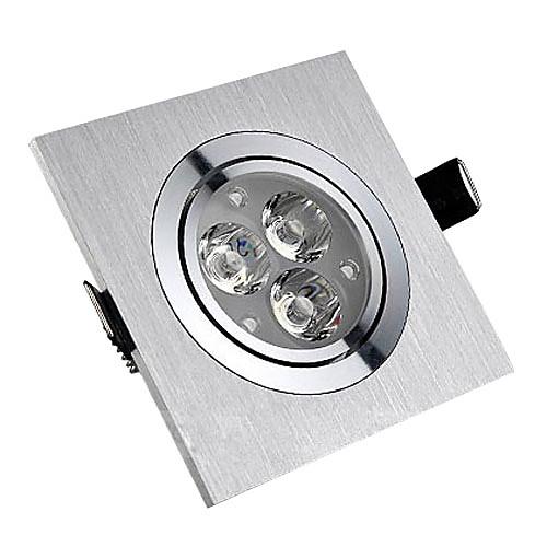 3W светодиодный потолочный светильник с 3 светодиодами площадь Характеристика Lightinthebox 1030.000