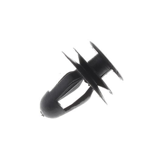 Пластиковые Universal 22мм Держатель тип Push Набор для автомобиля дверной панели - черный (100 шт) Lightinthebox 214.000