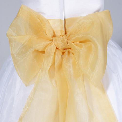 -линия рукавов пят органза и тафта платье девушки цветка Lightinthebox 2148.000