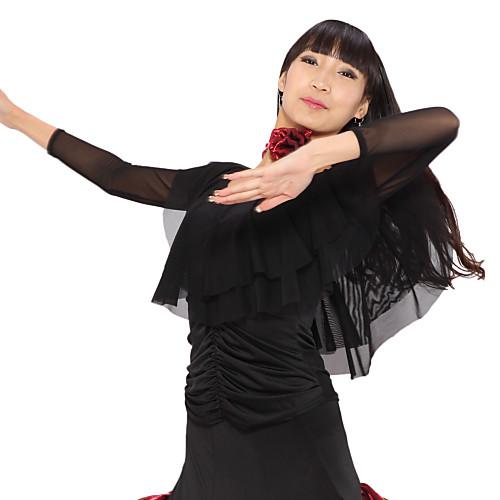 Вискоза Одежда и тюль современного танца топы для дам