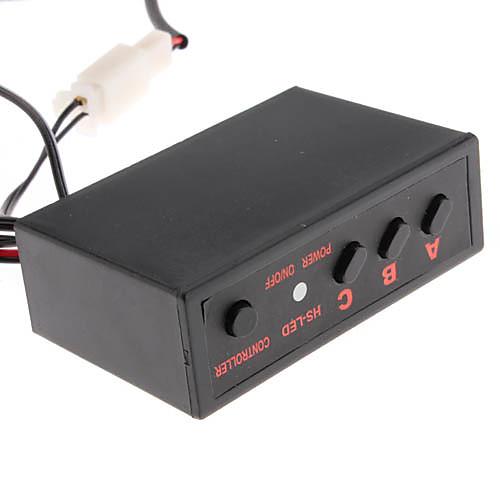 1W 3-LED желтый свет светодиодной вспышкой лампы для автомобилей (4-Pack) Lightinthebox 816.000