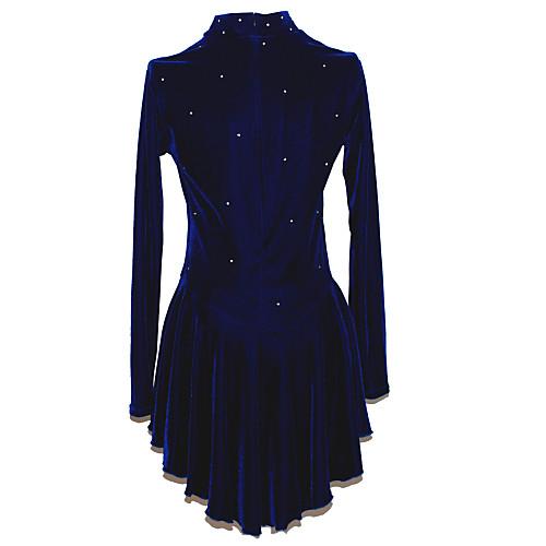 Классическое черное платье для фигурного катания Lightinthebox 4296.000
