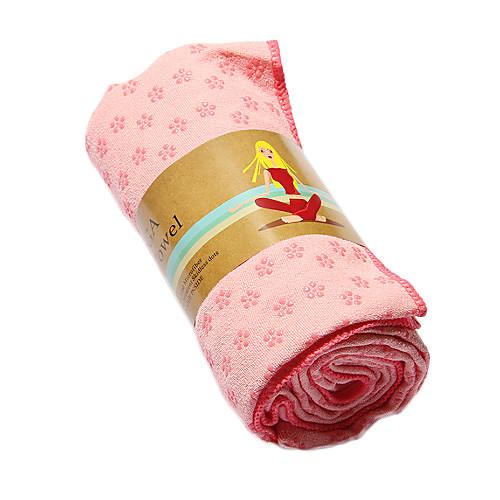 Йога Сгустите Анти-скольжения Мат полотенце