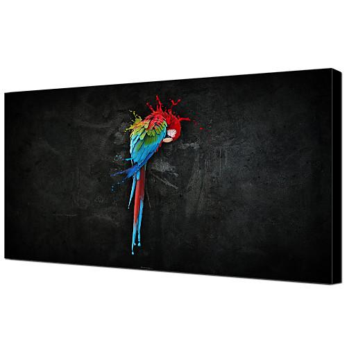 Ручная роспись маслом животных Parrot 1211-AN0030 Lightinthebox 3866.000