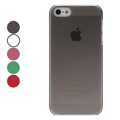 матовая поверхность жесткий футляр для iphone 5/5s (разных цветов) Lightinthebox 76.000