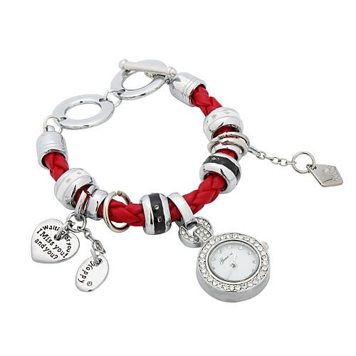 Ткань женские кварцевые стекла круглой формы платье Watch (другие цвета) Lightinthebox 335.000
