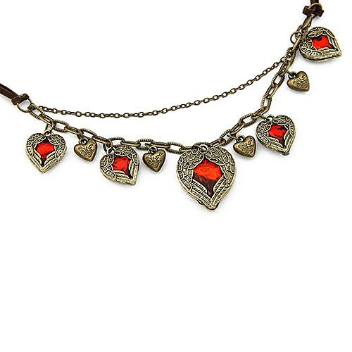 Ретро Крылья ангела Обернутый Любовь Ожерелье кожаный шнур Lightinthebox 343.000