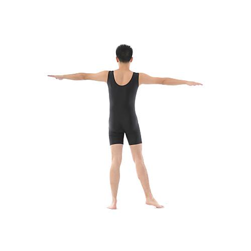 Мужская полиэстера балета танцуют комбинезон с передней совок и обратно Lightinthebox 979.000
