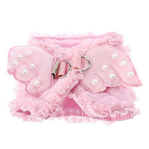 Маленький розовый жгут стиле ангел с поводком 120см (разных размеров) Lightinthebox 618.000