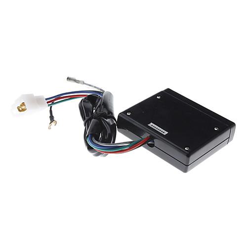 Автомобиль цифровой таймер с Turbo белый ЖК-дисплей Lightinthebox 1030.000