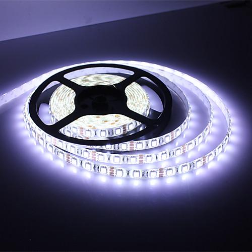 Водонепроницаемая светодиодная гирлянда 5м 45Вт 3900-4200лм 300x5050SMD белый свет (DC 12В) Lightinthebox 579.000