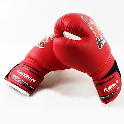 Детская PU бокс бесплатно боевые перчатки разных цветов (среднего размера)