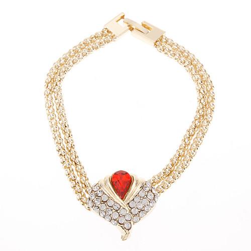 Позолоченные зависимости Полностью Ювелирное Ожерелье Кольца серьги и браслет ювелирные изделия Set