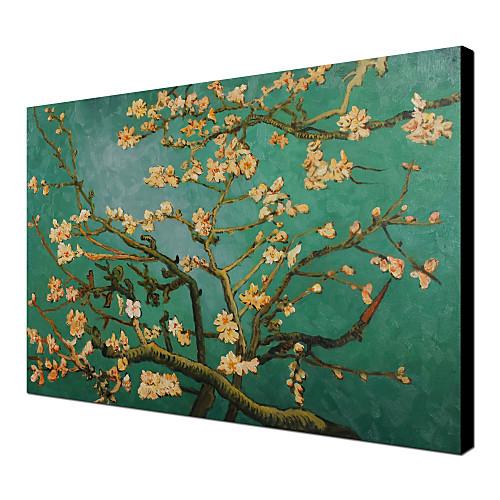 Ручная роспись маслом отраслей миндальное дерево в цвету пейзаж Ван Гога Lightinthebox 3007.000